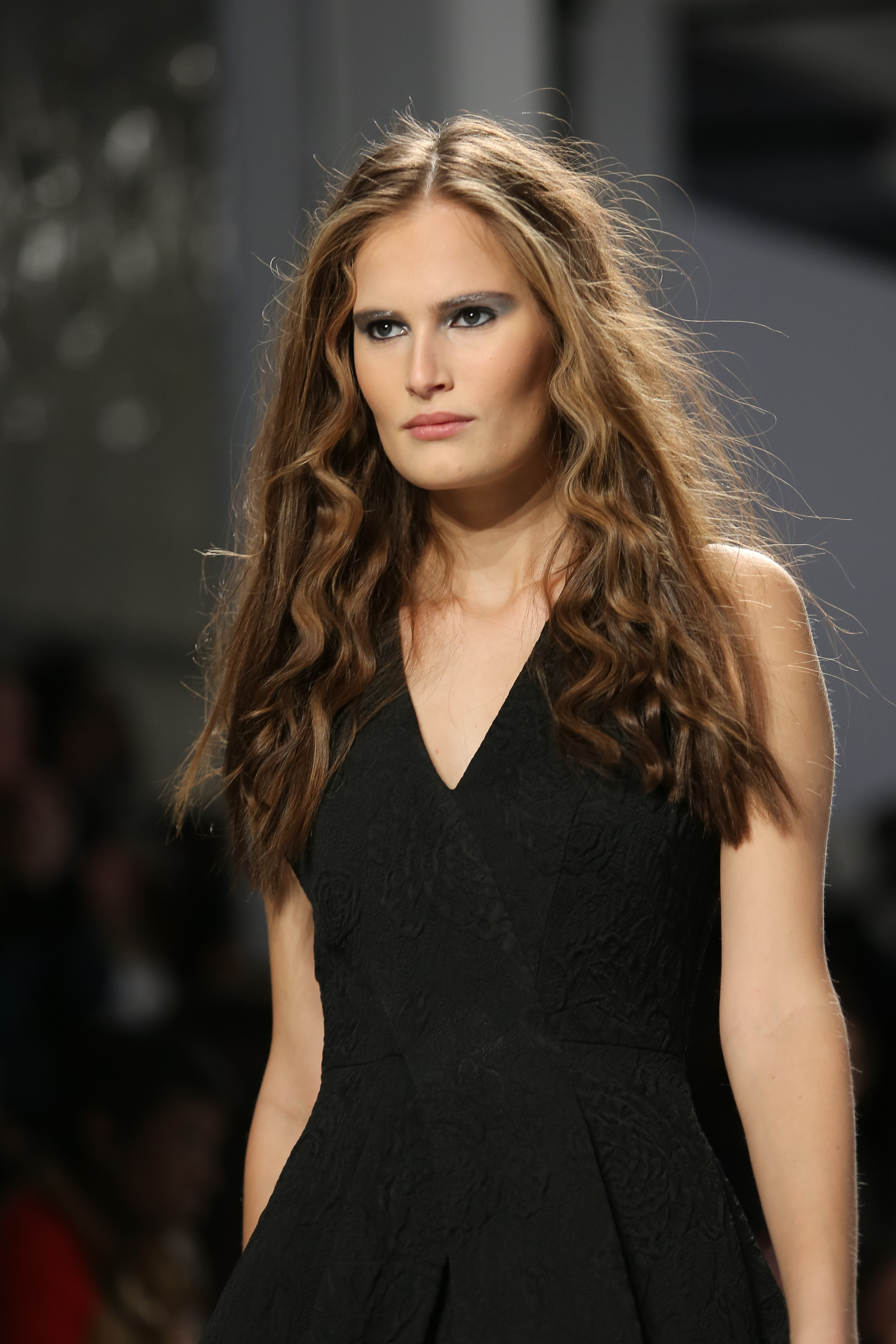 Ouidad at Tracy Reese Fall 2014 Fashion Show